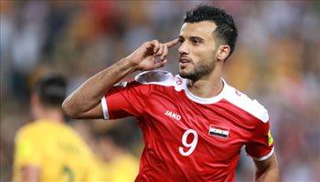 رغم أزمته.. استدعاء السومة إلى منتخب سوريا رسميا