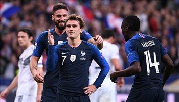جريزمان ومبابي يقودان نجوم فرنسا في مواجهة تركيا بتصفيات يورو 2020