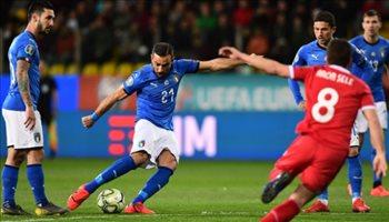 فيديو| فوز كاسح لإيطاليا في تصفيات يورو 2020
