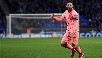 الدوري الإسباني| رقم قياسي جديد لميسي في الليجا والتاريخ يمنح برشلونة اللقب بالفوز على خيتافي