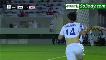 هدف اوزبكستان الثاني في مرمي عمان .. كأس أمم أسيا