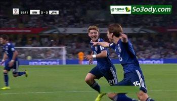 أهداف مباراة .. اليابان 3 - 0 إيران .. كأس أسيا