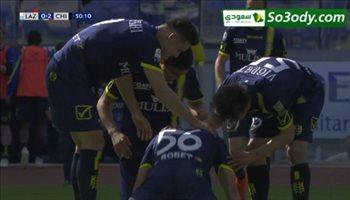 اهداف مباراة .. لاتسيو1 - 2 كييفو فيرونا .. الدوري الايطالي