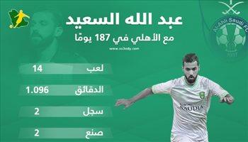 """بعد رحيله عن الأهلي.. ماذا قدم """"العجوز"""" عبدالله السعيد في الدوري السعودي؟"""