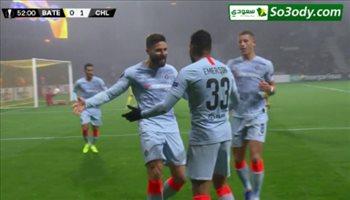 اهداف مباراة ..باتي بوريسوف  0 - 1  تشيلسي .. الدوري الاوروبي