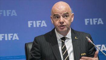 رئيس فيفا يكشف تفاصيل كأس مونديال 2022