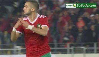 اهداف مباراة .. المغرب 2 - 0 الكاميرون .. تصفيات كأس أمم أفريقيا