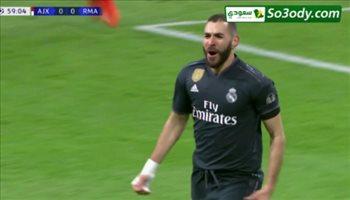 اهداف مباراة اياكس 1 - 2  ريال مدريد دوري ابطال اوروبا