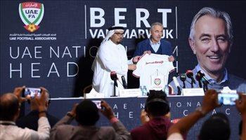 الاتحاد الإماراتي يقدم فان مارفيك مدربا للأبيض