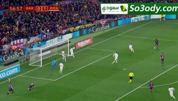 اهداف مباراة .. برشلونة  1 - 1 ريال مدريد.. كاس اسبانيا