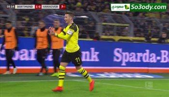 اهداف مباراة .. بروسيا دورتموند 5 - 1 هانوفر .. الدوري الالماني