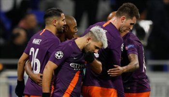 دوري الأبطال| فيديو.. أجويرو يخطف نقطة التأهل لمانشستر سيتي من جحيم ليون