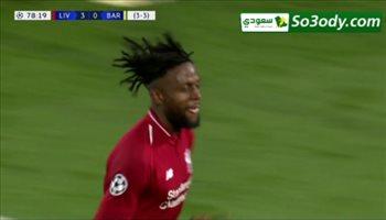 هدف ليفربول الرابع في برشلونة .. دوري أبطال أوروبا