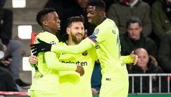 ميسي يقود هجوم برشلونة وجريزمان في قيادة أتليتكو مدريد