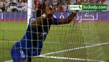 الهدف الاول للهلال في مرمى النجم الساحلي ..  كأس زايد للأندية الأبطال