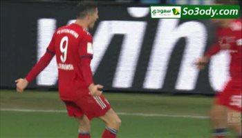 اهداف مباراة ..   هوفنهايم1 - 3بايرن ميونيخ .. الدوري الالماني