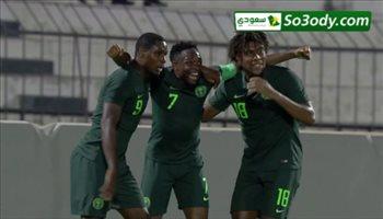 فيديو  نيجيريا يقترب من العودة لكأس إفريقيا بالفوز على ليبيا بقيادة أحمد موسى