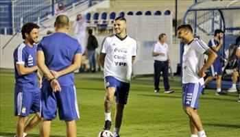 مران الأرجنتين قبل مواجهة العراق في البطولة الودية