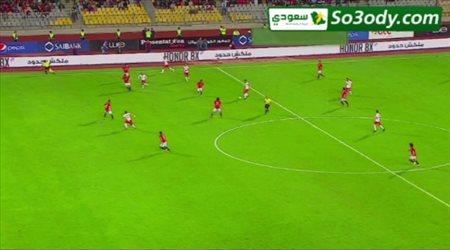 فرجاني ساسي يصنع الهدف الأول لمنتخب تونس في مرمى منتخب مصر .. تعليق رؤوف خليف