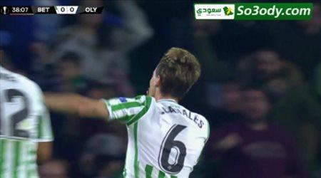 اهداف مباراة .. بيتيس 1 - 0 أوليمبياكوس .. الدوري الاوروبي