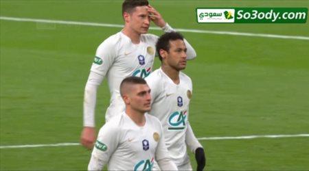 اهداف مباراة .. رين 2 ( 6 - 5 ) 2 باريس سان جيرمان و تتويج رين   بكاس فرنسا 2019