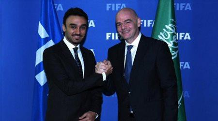 """""""فيفا"""" يؤيد المقترح السعودي بشأن كأس العالم والفرج يمثل الأخضر أمام كبار الكوكب"""