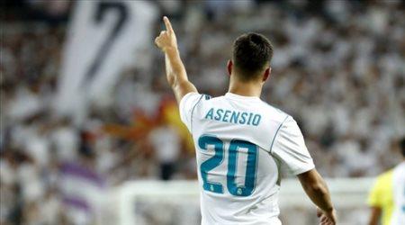 أسينسيو يتحول للمركز 10 مع ريال مدريد