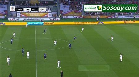 أهداف مباراة .. اليابان 1 - 3 قطر .. نهائي كأس آسيا