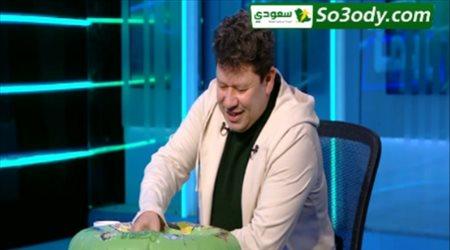 إعلامي مصري يصطحب معه عوامة لتحليل مباراة القمة بين الزمالك والأهلي