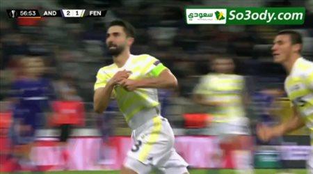 اهداف مباراة .. أندرلخت - بلجيكا 2 - 2 فنربخشة  .. الدوري الاوروبي