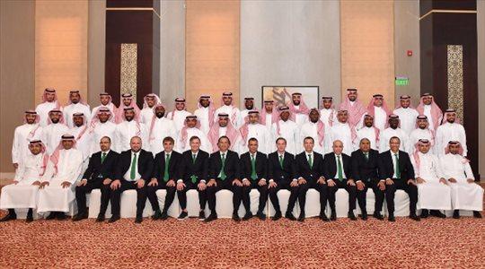 وصول بعثة المنتخب السعودي لمطار دبي