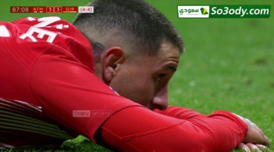 اهداف مباراة .. اتليتكو مدريد 3 - 3 جيرونا ..كاس اسبانيا