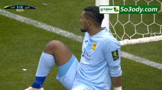 الهدف الثاني للتعاون في مرمى الاتحاد .. نهائي كاس خادم الحرمين الشريفين