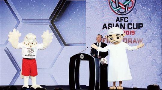 """تعرف على """"منصور وجراح"""" تميمتي كأس أمم آسيا 2019"""