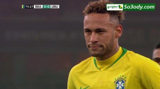 اهداف مباراة .. البرازيل 1 - 0 اوروجواي .. مباراة ودية