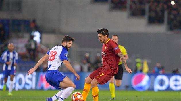 فيديو|بثنائية زانيولو.. روما يهزم بورتو في دوري أبطال أوروبا