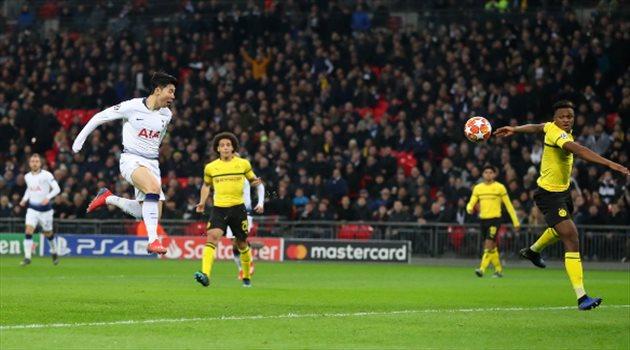 فيديو  توتنهام يكتسح دورتموند بثلاثية في ذهاب ثمن نهائي دوري أبطال أوروبا