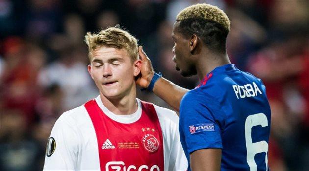 دي ليخت يتسبب في صراع بمدينة مانشستر من أجل لاعب برشلونة
