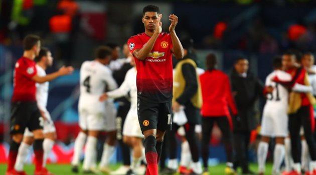 راشفورد يطالب جماهير مانشستر يونايتد برفع رؤوسهم في أبطال أوروبا