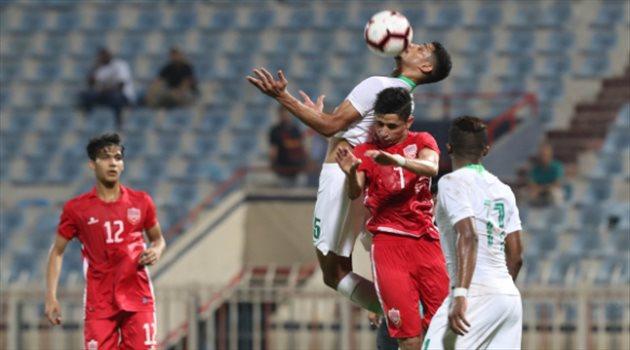 أخضر تحت 21 عاما أمام البحرين