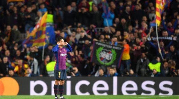 فيديو.. احتفال كوتينيو المثير يكشف النقاب عن مستقبله الغامض مع برشلونة
