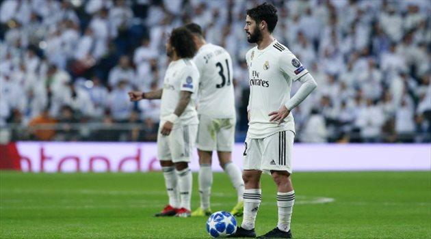 دوري الأبطال  استبعاد إيسكو من قائمة ريال مدريد أمام أياكس