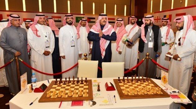 أمير حائل يطلق بطولة حائل الدولية للشطرنج