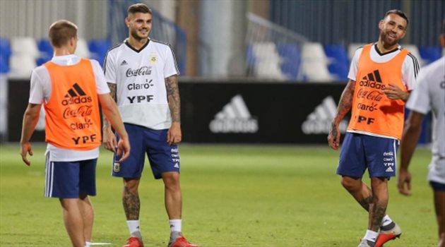 تدريبات منتخب الأرجنتين