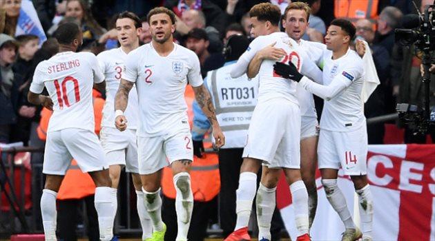صورة| قائمة قوية لإنجلترا في نهائيات دوري الأمم الأوروبية