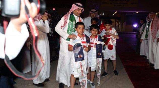 وصول بعثة الزمالك إلى المملكة استعدادا للسوبر السعودي المصري