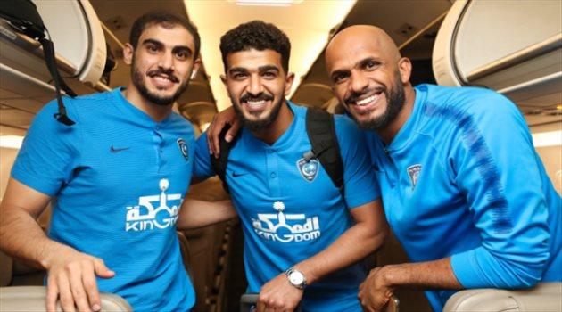 بعثة الهلال تصل الإمارات تأهبا لمواجهة النجم الساحلي على لقب كأس زايد