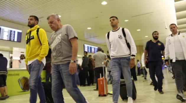 وصول بعثة الأرجنتين للمملكة استعدادا للدورة الرباعية