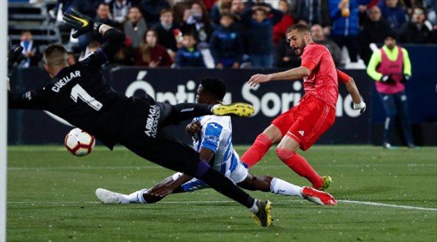فيديو.. ريال مدريد يسقط في فخ التعادل أمام ليجانيس بالدوري الإسباني