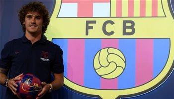 أولى كلمات جريزمان بقميص برشلونة: أرغب في الفوز بجميع الألقاب